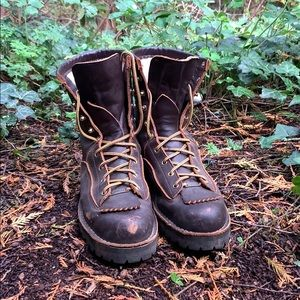 """Danner Rain Forest Brown 8"""" Boots"""